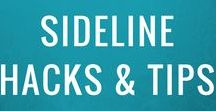 Youth Sports Sideline Hacks + Tips / Sideline Society's Hacks + Tips board was created to help provide sports moms with awesome how-to's to shake off the struggle and hack the sideline.  Get checklists, scripts, cheat sheets + more!  FOLLOW THIS BOARD + GET INSPIRED!  To be a pinner, email shaki@sidelinesociety.com.  Join our community + become a #SidelineHacker at https://goo.gl/z1UVo3 – All sports moms are welcome!