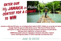 JAMAICA -This Year in Photos / Jamaica turns 50!- Jamaica celebrated 50 years as an independent nation in 2012. Follow us as we pin our favourite images from the year of celebrations. You can play your part for a chance to win. During the 12 days of Christmas pin your favourite Jamaican vacation photos with your best caption for a chance to win a JAMAICA bag plus entry to a signature Jamaican attraction. Contest starts December 13, 2012 and ends on Christmas Eve. Check http://visitjamaica.com/myphoto.aspx for contest rules. / by Jamaica Tourist Board