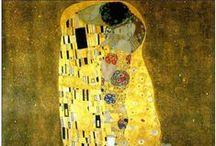 Peintre Gustav Klimt.