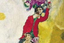 Peintre Marc Chagall