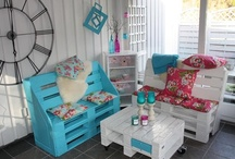 Uses For Old Pallets / This board is a great source for finding ideas on what to do with your old pallets.   You'll find some of the most amazing, creative ways to turn your old pallets into functioning furniture.