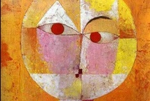 Peintre Paul Klee / Paul Klee  18 December 1879 – 29 June 1940 was born in Münchenbuchsee, Switzerland, and is considered both a German and a Swiss  painter. His highly individual style was influenced by movements in art that included expressionism, cubism, and surrealism.