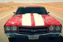 American cars / All the American muscle