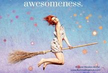 Be Awesome / Tips for becoming the most awesome you that you can be. Live, laugh and learn, my peeps! :) / by Michelle