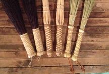Drumming with Brooms / We're a small, handmade broom workshop and have started making a range of brushes and sticks for drummers and percussionists. We're really excited about this new use for a traditional product. Check out the designs here: http://haydenvillebroomworks.com/drumming
