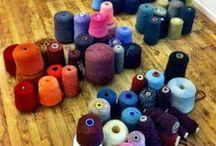 Yarn Addiction / Colourful and textured yarns