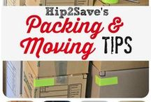 Moving tips / We have compiled a few of the best moving tips Pinterest has to offer!