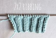 Knitting & crochet tips