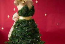 Kerst jurk / Kijk hier voor tips om je eigen kerstboomjurk te maken.