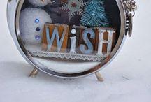 Kerstklokje tingelingeling / Echt geweldig bedacht. Kerstversiering in een oude klok of wekker.  Dit wil ik zeker zelf gaan proberen.