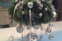 Show stuk voor op je kersttafel / Maak een mooi stuk op je kersttafel dat goed opvalt en je bent klaar.  Kijk hier voor ideetjes.