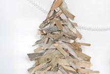 Houten kerstboom / Tips om deze te versieren of te maken voor een gezellige kerst