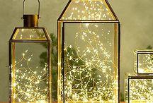 Kerst in de lantaarn