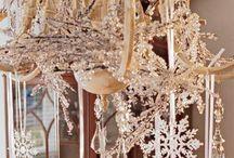 Kerst lampen versieren / Versier je lamp boven de eet- of zithoek om het lekker knus en gezellig te maken.