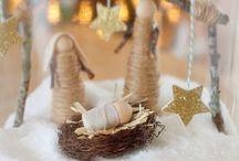 Kerststalletjes / Binnen, buiten, klein of groot