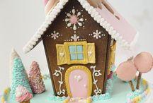 Kerst koekhuisjes / Gingerbread