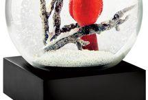 Kerst sneeuwbollen / Schudden maar
