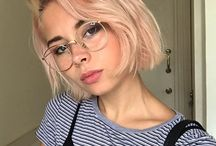 girls with glasses / girls, glasses, aesthetic and beauty