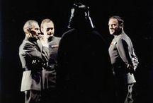 Darth Vader / Darth Vader rules the Death Star.