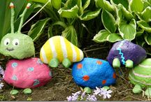 Garden Crafts for Kids / Fun garden-related crafts for the kids!