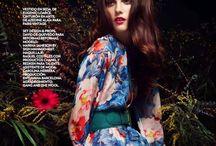 Marina Jamieson Work / A few photos of my professional work as an International Top Model.
