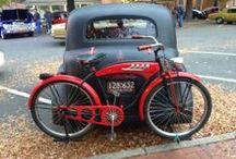 Cruisers / It's fun to ride a cruiser bicycle.