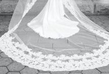 white wedding / Elegance and beauty of the big white wedding