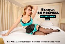 Bianca Bombshell / The Face of Modern PinUp.