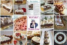 Le vostre Re-cake! Novembre / Crostata con Cioccolata, Panna e Caramello Salato
