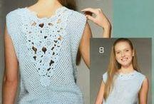 abbigliamento crochet