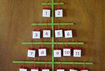 calendari dell'avvento / aspettando il Natale