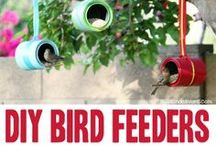 Birdhouses & Feeders - Repurposed & Upcycled Creations / DIY Repurposed & Upcycled Birdhouse Creations