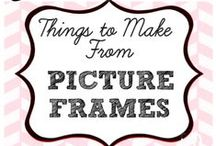 Picture Frame - Repurposed & DIY Creations / Picture Frame - Repurposed & DIY Creations