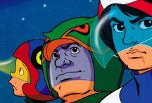 Battle of the Planets / Battle of the Planets (1978) is an American adaptation of the Japanese anime series Science Ninja Team Gatchaman (1972).