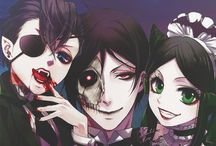 anime || kuroshitsuji / (Also known as Black Butler) Kuroshitsuji is an anime following a 12 year old orphaned noble who has made a contract with a demon in the late 19th century. (Invite ur friends)