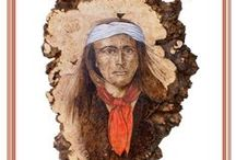 Pyrography Miscellaneous / Miscellaneous things related to Pyrography/Woodburning