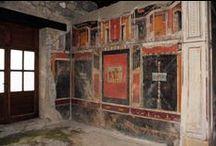 frescos from pompeii,and roman world