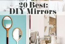 Mirrors- DIY | Upcycle | Repurpose / DIY Mirrors - Upcycle/Repurpose