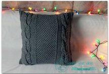 Poduszki na drutach / Knit pillows