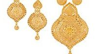 Indian Gold Jewelry - Akshaya Tritiya Special / In celebration of #Akshaya #Tritiya, we at Raj Jewels have complied a selection of #22K #Indian #Gold #Jewelry to add to your Wish List.  Get ready to invest in jewels that will invite prosperity and make dressing up auspicious. https://www.rajjewels.com/collections/collections/akshaya-tritiya-jewellery.html