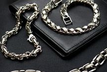 Fashion Forward Men & Platinum Jewelry / Explore the #fashionable styling of #Mens #Platinum #Jewelry #Accessories that not only complements your work wardrobe but also perfectly highlights your weekend wear. These unique and trendy #chains and #bracelets are a must-have for the debonair man. Sturdy in design and certified in quality - a great combo is waiting for you only at:  https://www.rajjewels.com/collections/collections/platinum-jewelry.html