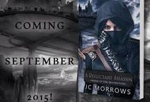 A Reluctant Assassin / Our first FICTION release... Releases September 2015!