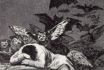 Tekeningen / Dore, Goya e.d.