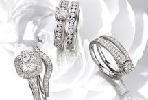 """Diamond Bridal Wedding Sets / From """"Will you marry me?"""" to saying """"I do"""" at the alter, we have the """"perfect pair"""" of certified #diamond #engagementrings and #weddingbands crafted in gleaming #18kgold.  Let us help simplify your search for life's most cherished jewel with an assorted range of #weddingsets , designed to complement each other just like the bride and the future groom to be. Explore our dazzling #bridalsets collection: https://www.rajjewels.com/jewelry-jewellery/rings/solitaire-rings.html?ring_style=456"""