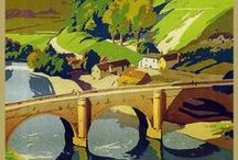 Travel Posters from the railways / travel from yesteryear
