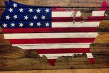 Americana Upcycles - Patriotic Repurposing / DIY Americana Upcycles - Patriotic Repurposing - American Flare Reuses   Seasonal Themes:  Independence Day (July 4th), Memorial Day, Labor Day, Flag Day, Patriots Day