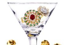 """Cocktail Rings / We are beyond excited to #ring in the #newyear and have the perfect diamond & gold #statement #jewelry to accessorize you in #style. From #Christmas #parties to #2017 #soirees, create a wish list for dazzling #bold & #beautiful rings as your explore our """"all things #cocktail"""" compilation : https://www.rajjewels.com/jewelry-jewellery.html?limit=90&ring_style=31"""