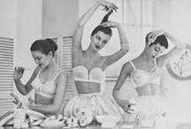 Lingerie Mood Board / mood board for lingerie shoot