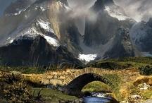 Mountains { hills & rocks }