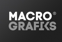 Branding + Design + Promos / Different pieces for the branding and design of Macrografiks, as well as newsletters with promos.